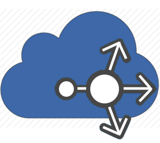 Cloud pointing to different directions, lbaas